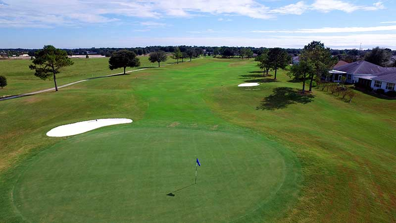 Private golf course at On TOp of the World Communities Florida Golf Community Ocala, FL.
