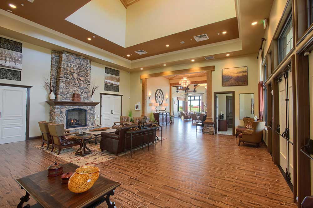 Foyer of The Lodge at Candler Hills On Top of the World Communities Ocala, FL