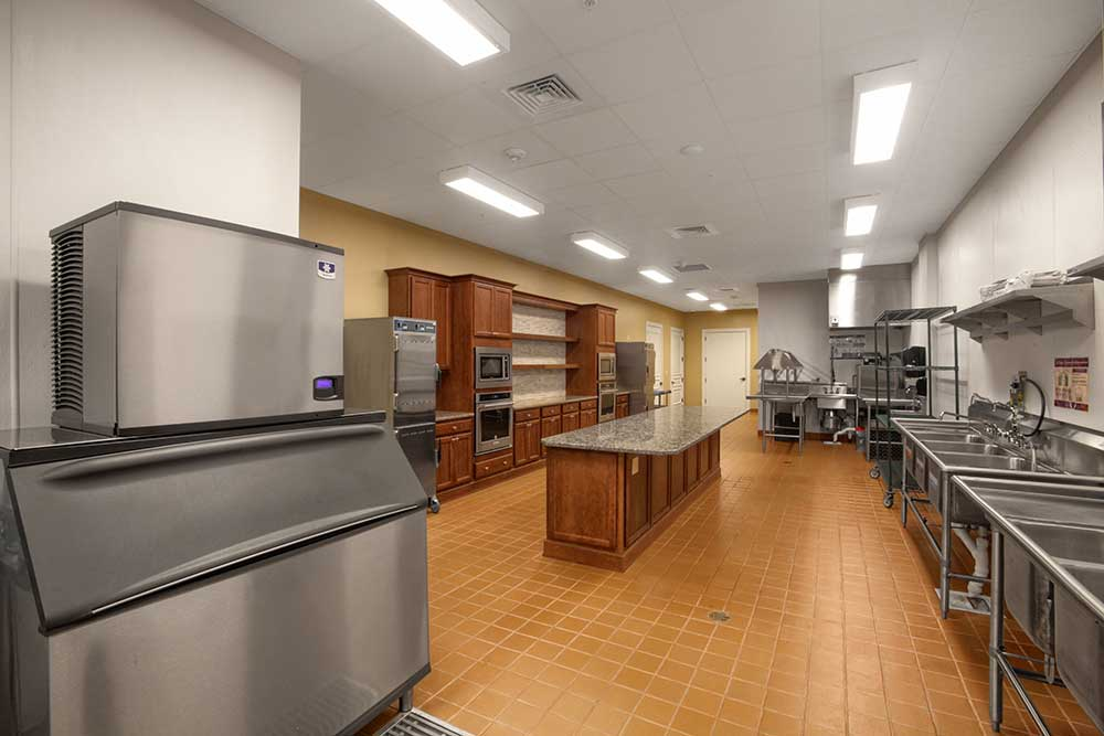 Full Service Kitchen of The Lodge at Candler Hills On Top of the World Communities Ocala, FL