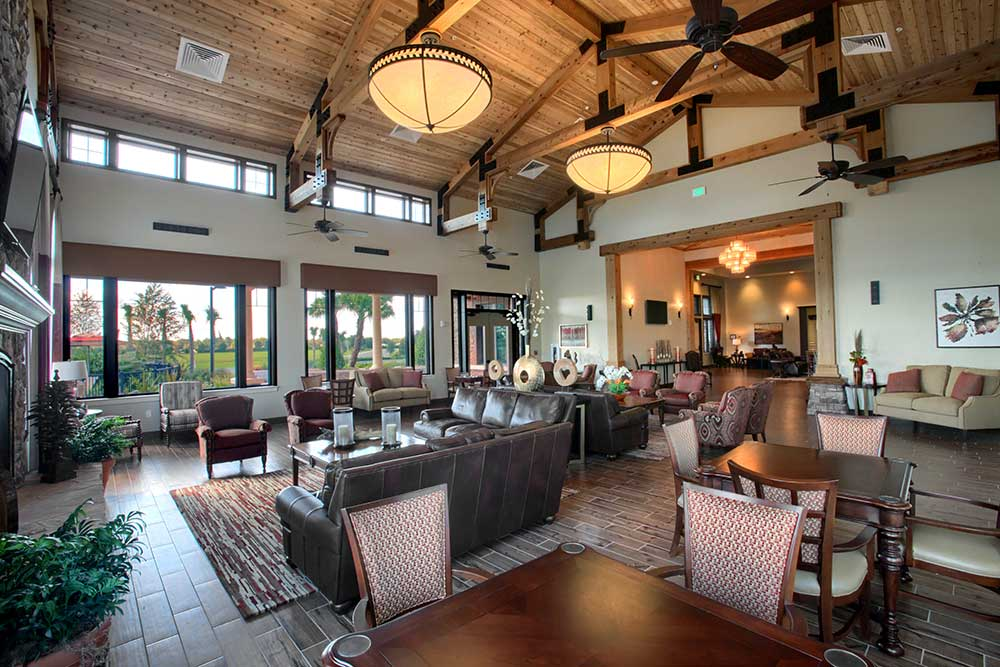 Grand Room of The Lodge at Candler Hills On Top of the World Communities Ocala, FL