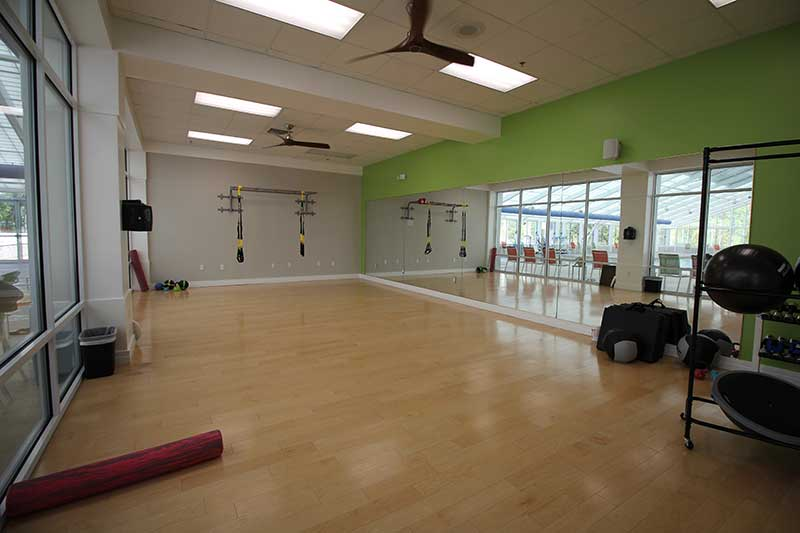 Arbor Fitness Center TRX Fitness Room at On Top of the World Retirement Community Ocala, FL
