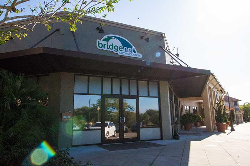 Bridgenet Communication in Circle Square Commons serving On Top of the World and surrounding areas.