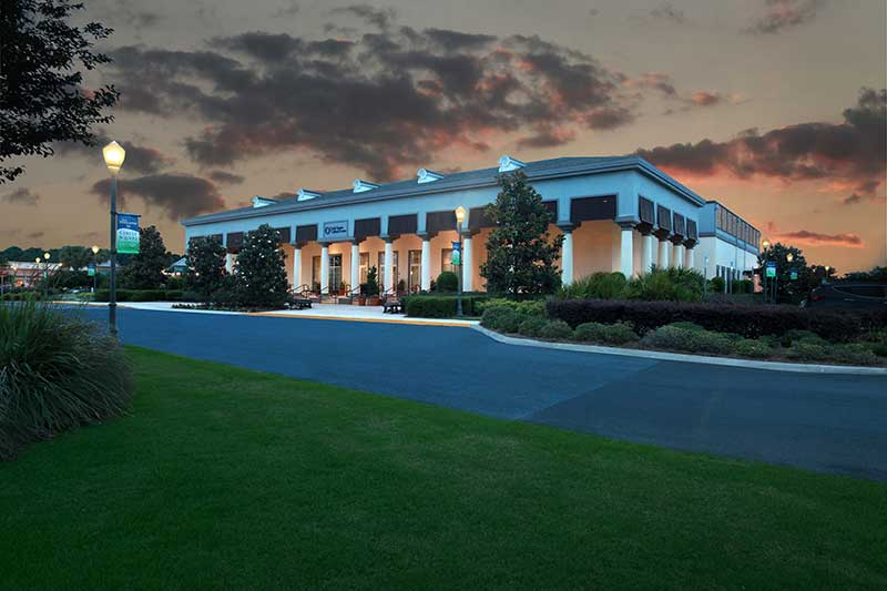 Circle Square Cultural Center at On Top of the World Retirement Community in Ocala FL Open to the public