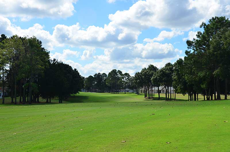 Private golf course at On TOp of the World Communities Golf Course Community Ocala, FL.