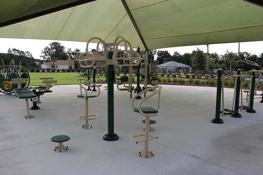 Indigo East Fitness Center Power Park at On Top of the World Communities in Ocala, FL