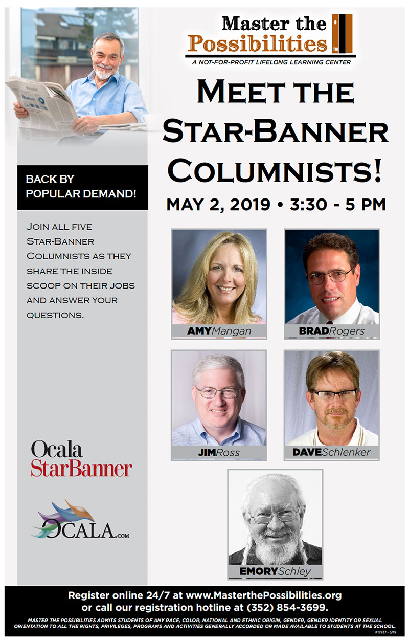 Meet the Star-Banner Columnists at Master the Possibilities